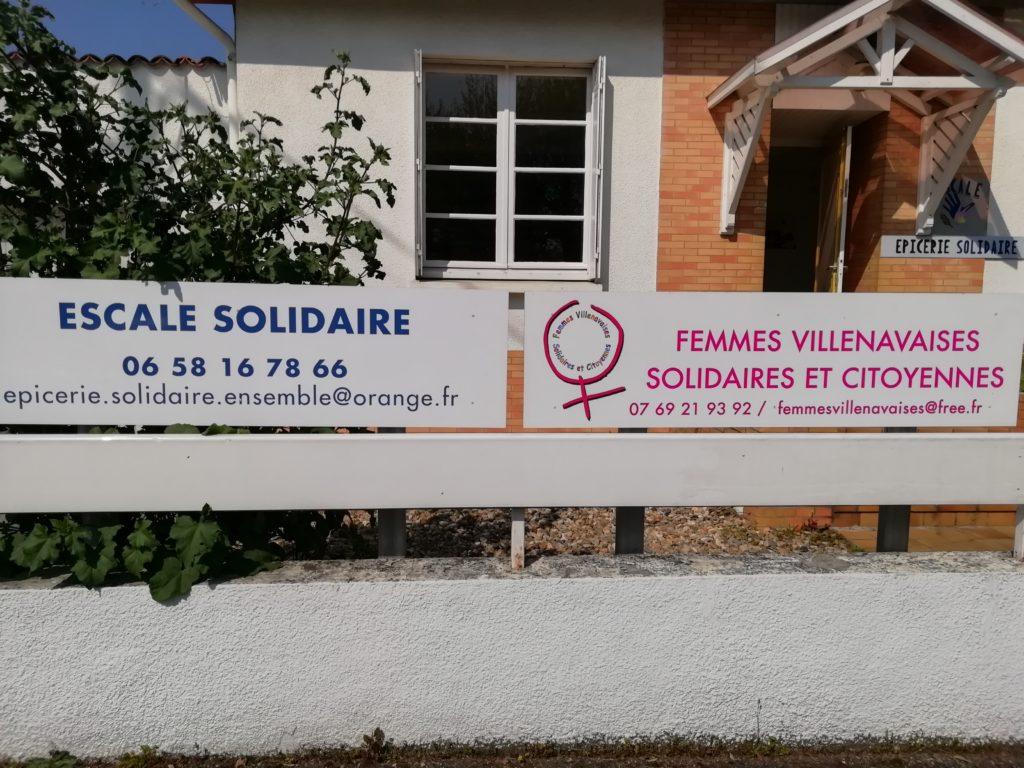 femmes villenavaises solidaires et citoyennes, escale solidaire, villenave d'ornon, association, bordeaux
