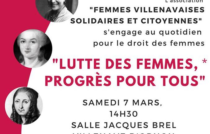 Lutte des femmes, progrès pour tous